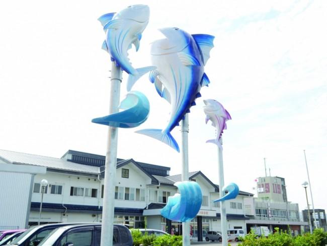 枕崎市かつお公社-工場見学-:写真1