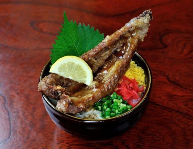 昆鰹(コンカツ)枕崎鰹大トロ丼:写真1
